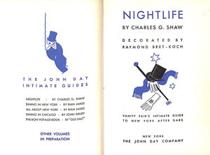 Nightlife Vanity Fair's Intimate Guide To New York After Dark by Charles G. Shaw
