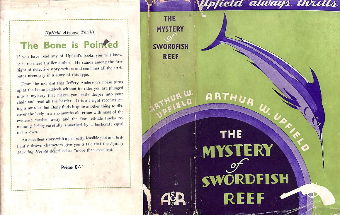 The Mystery of Swordfish Reef by Arthur W. Upfield