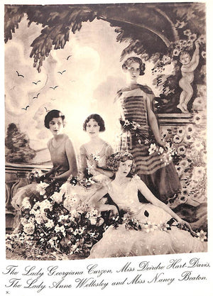 """The Book of Beauty"" 1930 by Cecil Beaton"