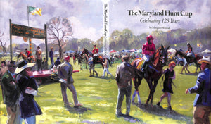 """The Maryland Hunt Cup: Celebrating 125 Years"" 2018 WORRALL, Margaret (SOLD)"