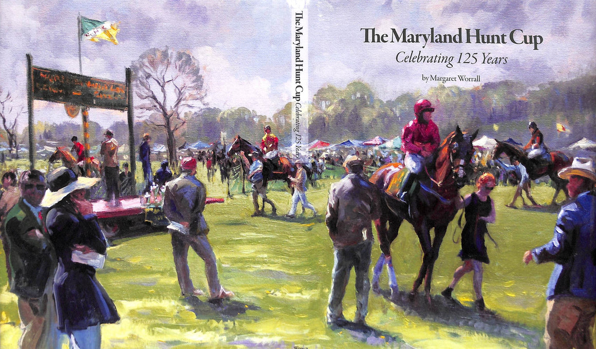 """The Maryland Hunt Cup: Celebrating 125 Years"" 2018 by Margaret Worrall (SOLD)"