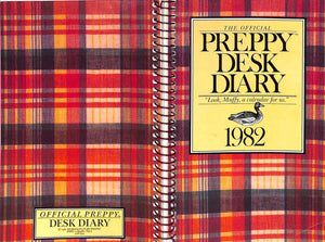 'The Official Preppy Desk Diary' 1982 by Lisa Birnbach