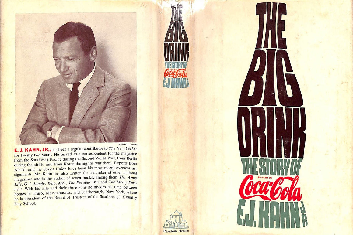 The Big Drink by E.J. Kahn Jr.