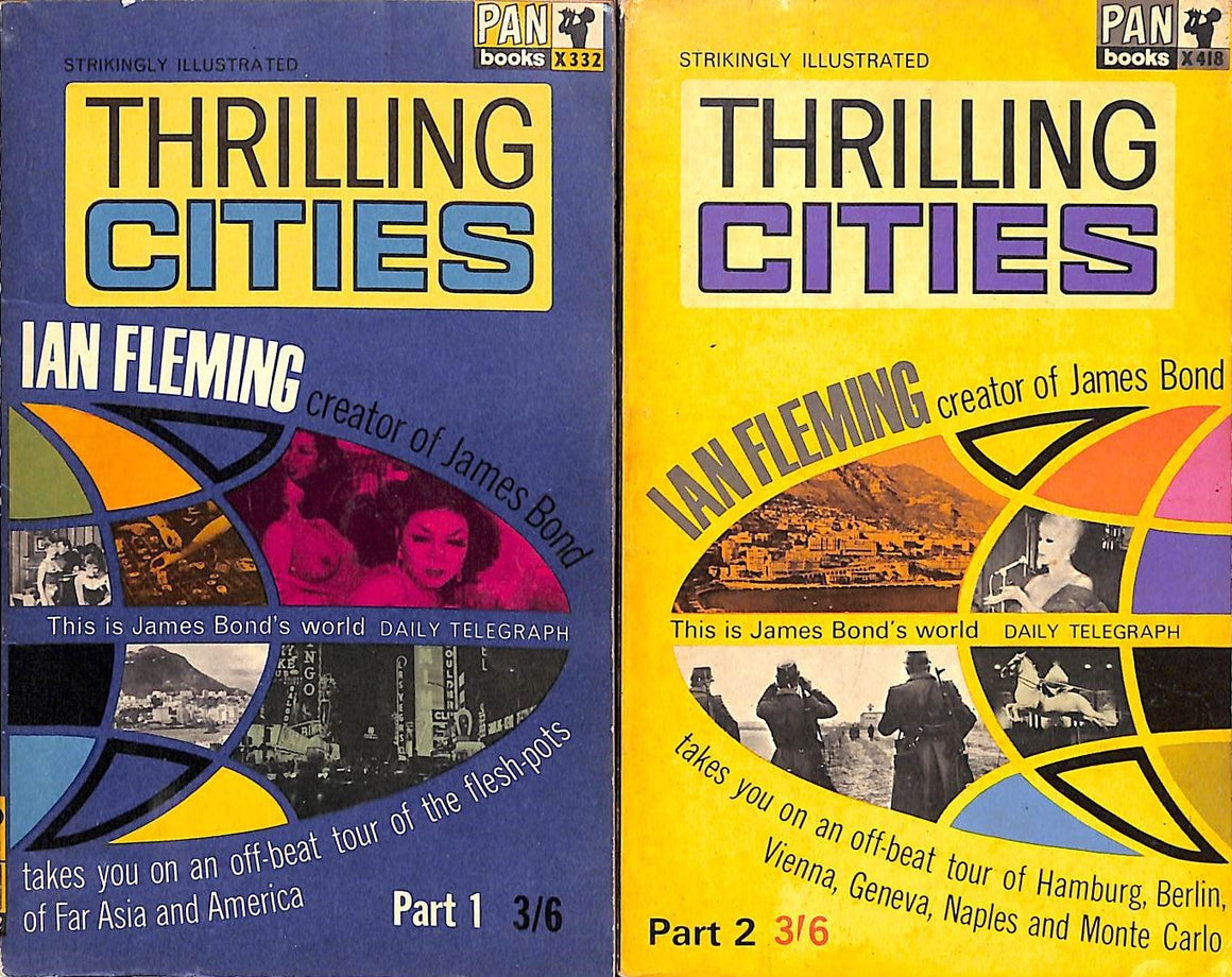 Thrilling Cities Part 1 & 2 by Ian Fleming