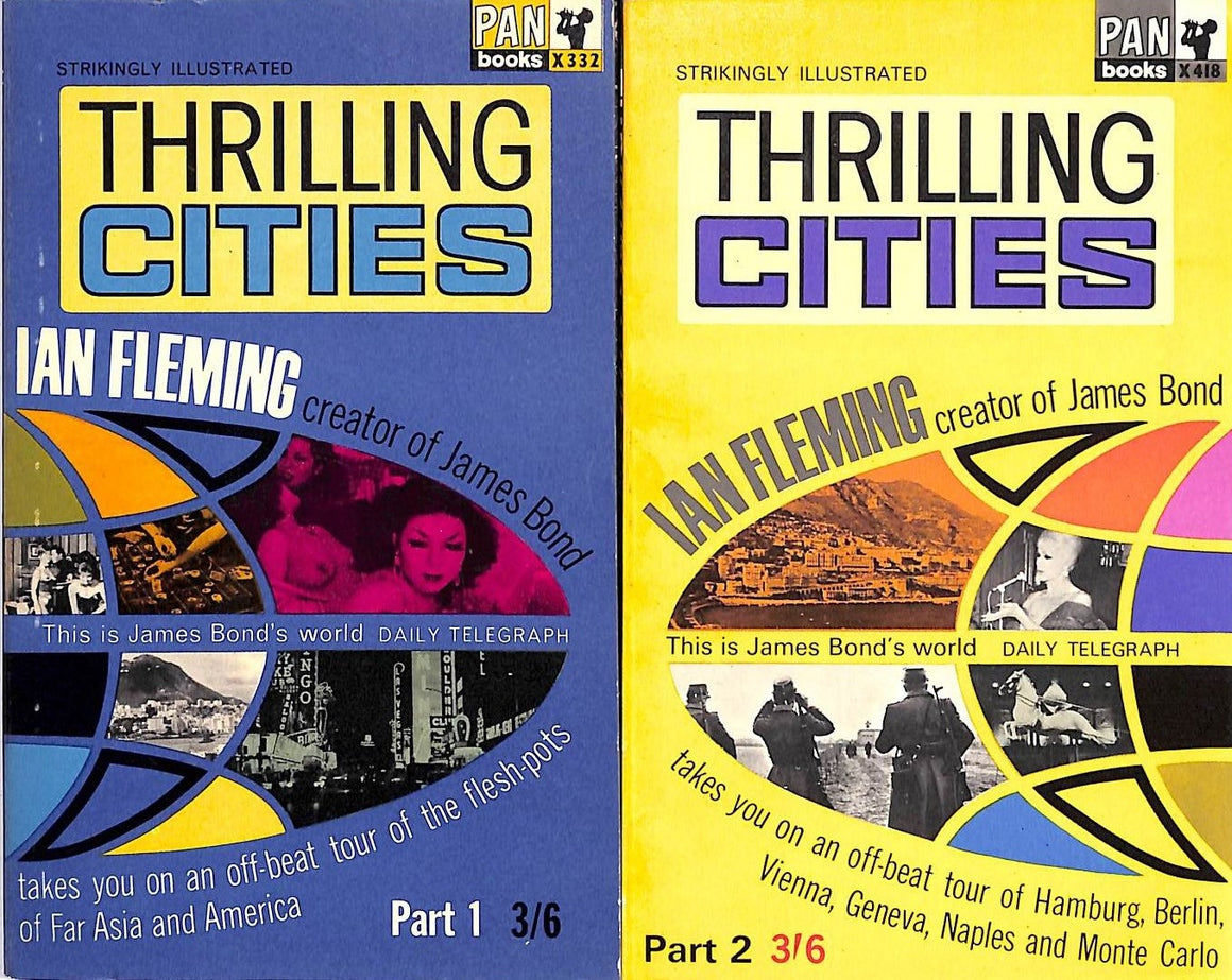 Thrilling Cities by Ian Fleming (SOLD)