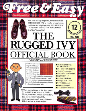 "Free & Easy The Rugged Ivy Official Book ""Autumn And Winter 2012"""