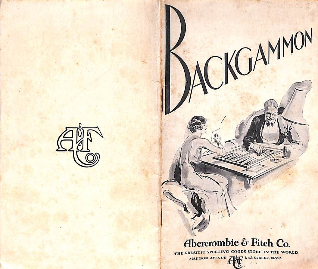Abercrombie & Fitch How To Play Modern Backgammon