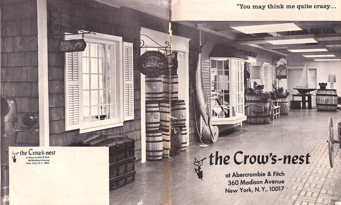 Abercrombie & Fitch The Crow's-Nest 1969