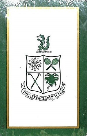 The Everglades Club Worth Avenue Palm Beach Sealed Deck of Playing Cards