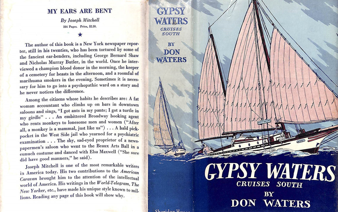 """Gypsy Waters: Cruises South"" 1938 by Don Waters"