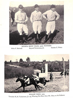 """Myopia Races & Riders 1879-1930"" 1931 by Frederick J. Alley"