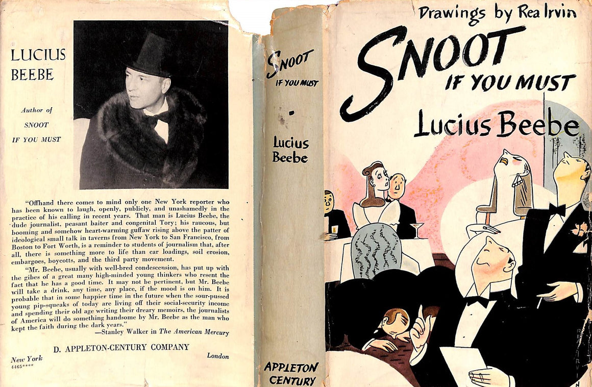 """Snoot If You Must"" 1943 by Lucius Beebe"