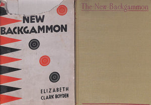 """The New Backgammon"" 1930 BOYDEN, Elizabeth Clark"
