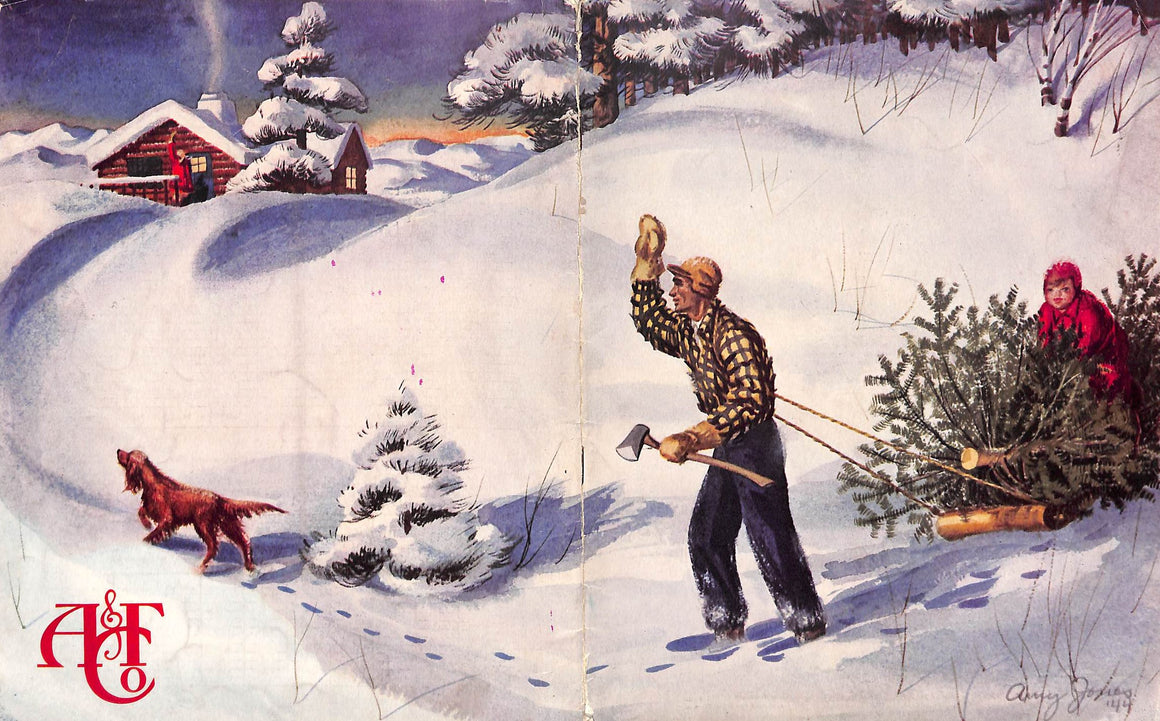 """Abercrombie & Fitch 1944 Christmas Catalog"""