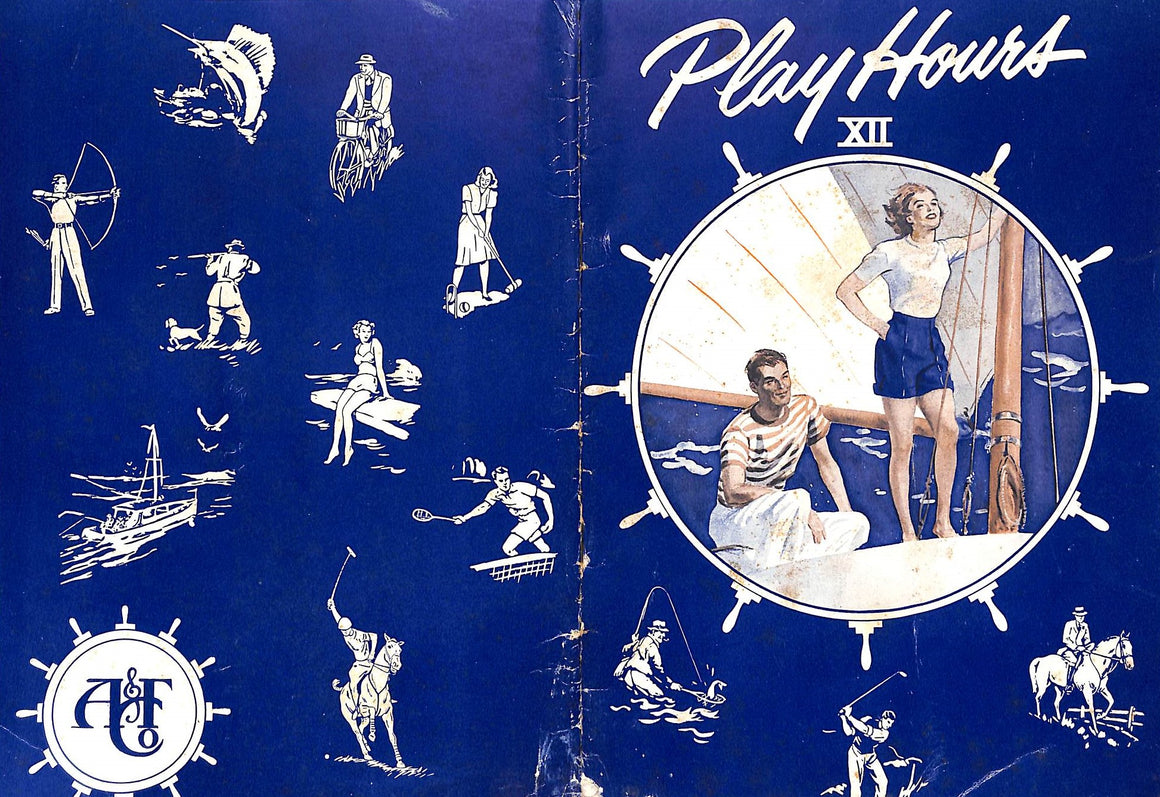 """Abercrombie & Fitch Play Hours XII"" 1950"