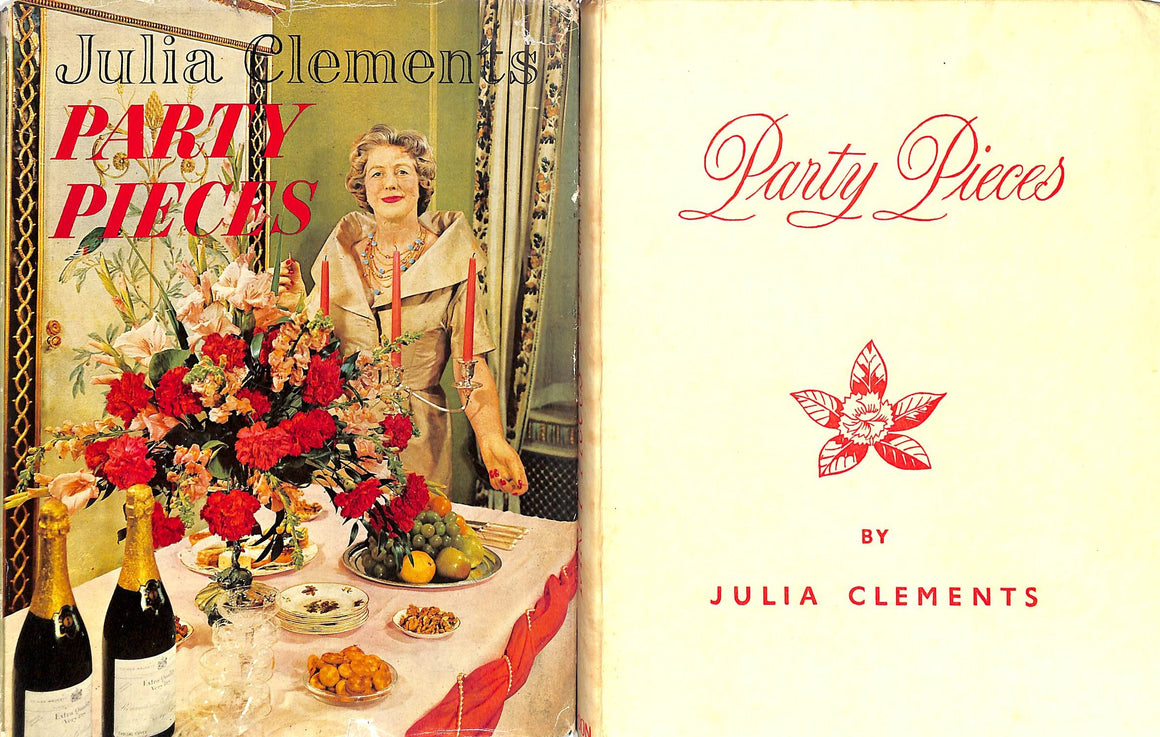 Party Pieces (Inscribed!) by Julia Clements (Sold!)
