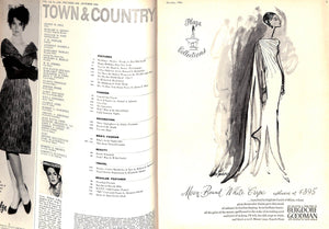 """Town & Country"" October 1964"
