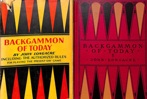 """Backgammon of Today"" 1930 by John Longacre"