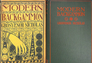 Modern Backgammon by Grosvenor Nicholas