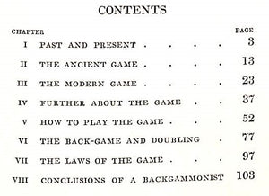 """Modern Backgammon"" 1928"