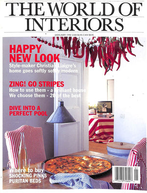 The World of Interiors January 1996