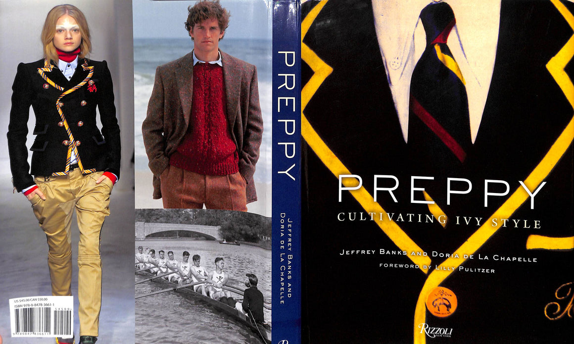 """Preppy: Cultivating Ivy Style"" 2011 by BANKS, Jeffrey (Inscribed!)"