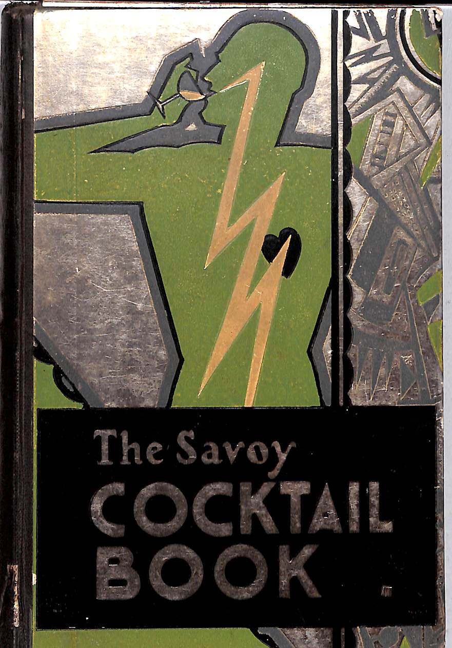 """The Savoy Cocktail Book"" 1930 First Edition by Harry Craddock (SOLD!)"