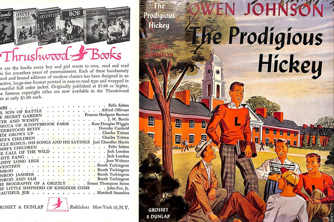 """The Prodigious Hickey"" 1938 by Owen Johnson"