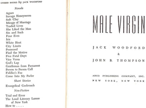 """Male Virgin"" 1950 by Jack Woodford"