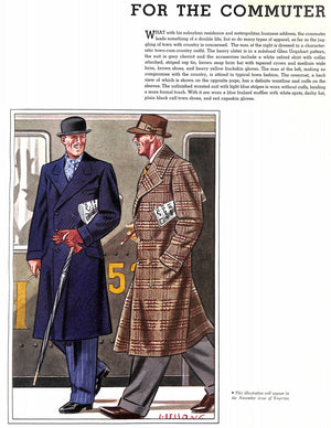 """Apparel Arts Fifth Anniversary"" 1936 (Sold!)"