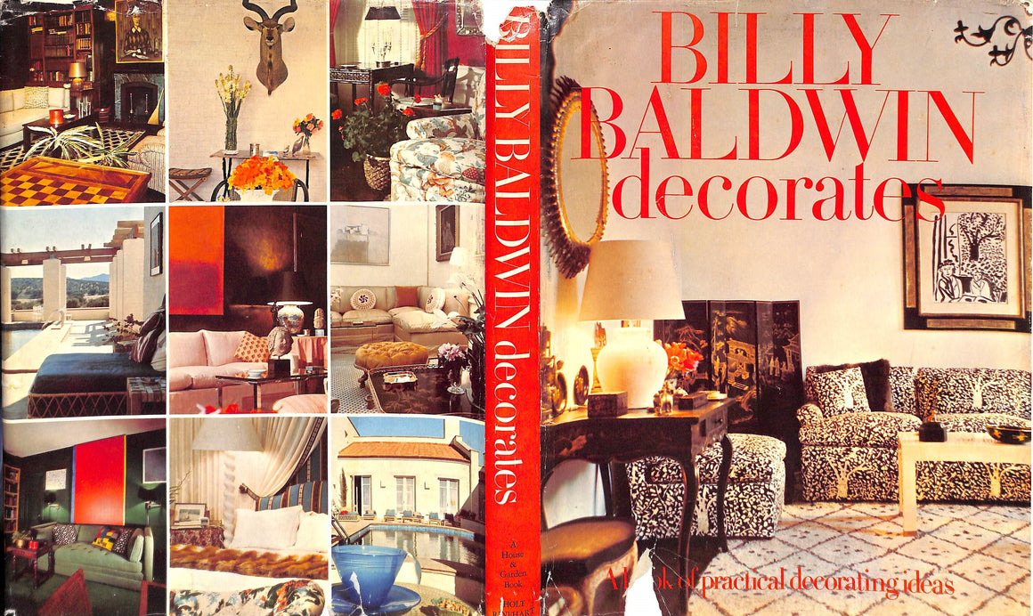 """Billy Baldwin Decorates"" by Billy Baldwin"