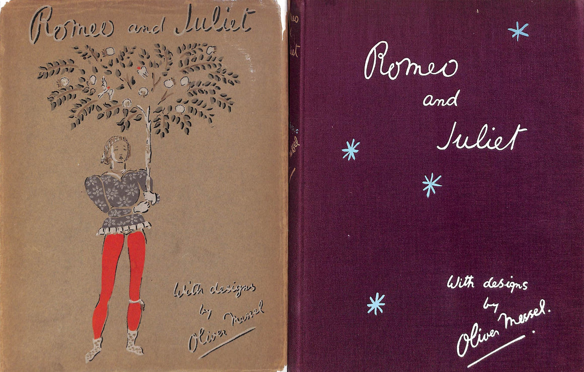 """Romeo and Juliet"" 1936 by William Shakespeare with Designs by Oliver Messel (Signed!)"