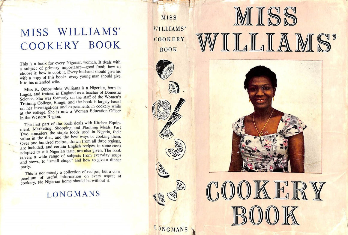 """Miss Williams' Cookery Book"" 1962"