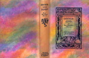 """Dinner with James"" 1931 by Rose Henniker/ Heaton"