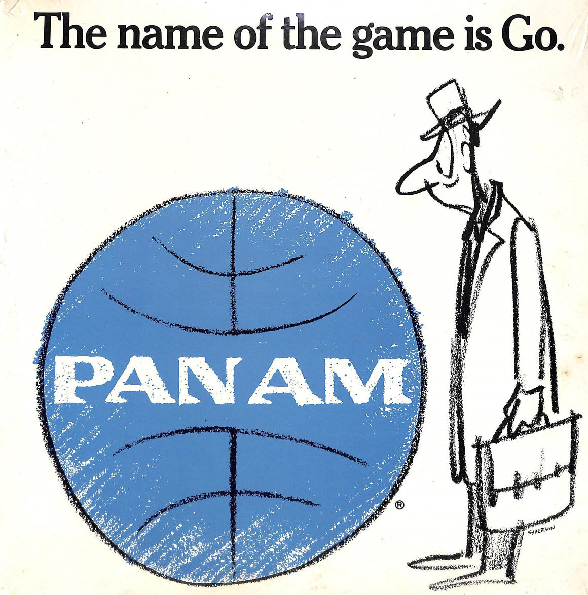 Pan Am LP The Name of the Game Is Go