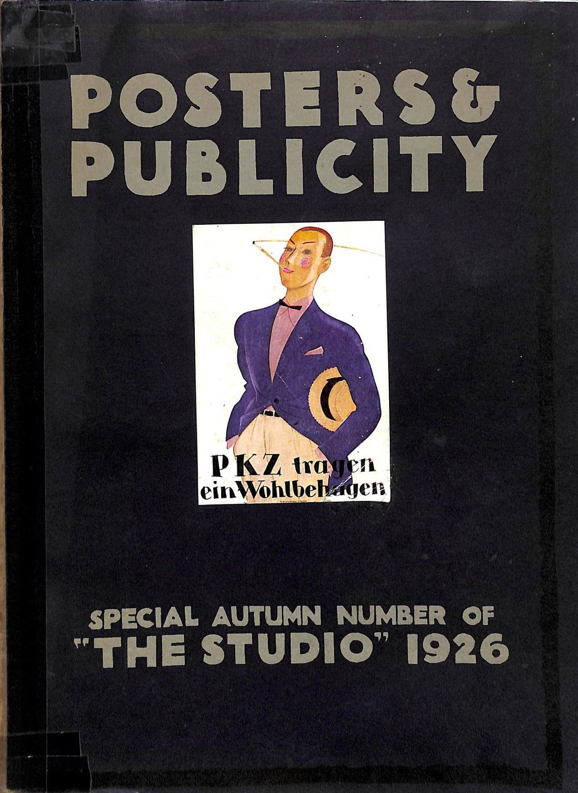 """Posters & Publicity Special Autumn Number of ""The Studio"" 1926"" Jones, Sydney R."