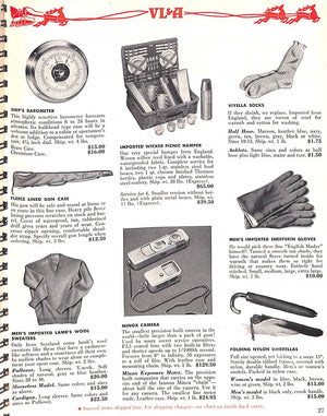 """VL & A 1952 Christmas Catalogue"""