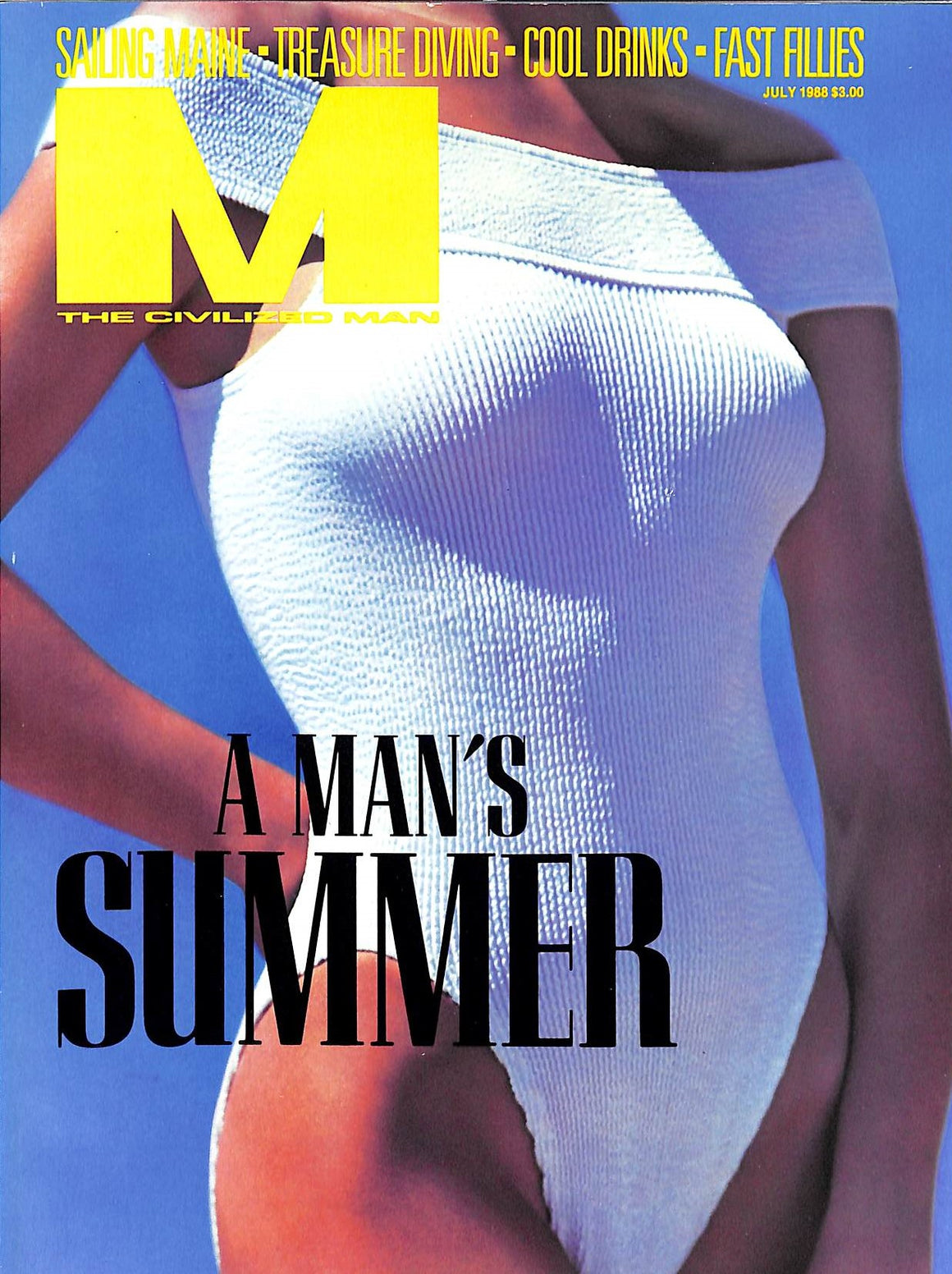 """M The Civilized Man: A Man's Summer July 1988"""