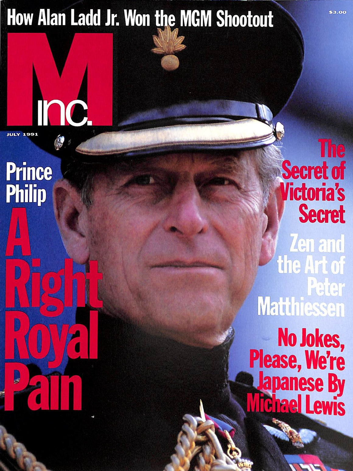 """M The Civilized Man: Life at the Top July 1991"""