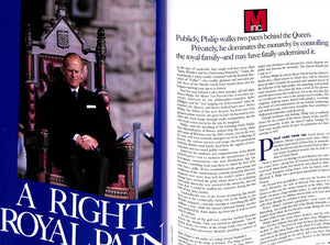 """M The Civilized Man: Prince Philip A Right Royal Pain"" July 1991"