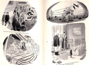 """Drawn and Quartered: An Album of Drawings"" ADDAMS, Chas"