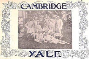 """Cambridge Yale Games"" Oct. 5, 1895"