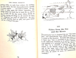 """The Finer Cooking or Dishes for Parties"" Boulestin, X.M."