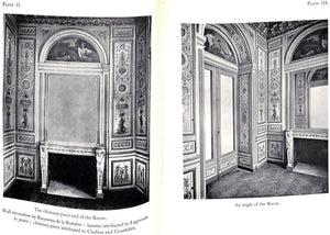"""The Panelled Rooms In The Boudouir of Madame de Serilly"""