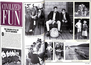 """M The Civilized Man: Class Who Has It/ Who Doesn't"" January 1988"
