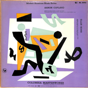 """Modern American Music Series Aaron Copland and Ellis Kohs w/ Stuart David Artwork Cover"""