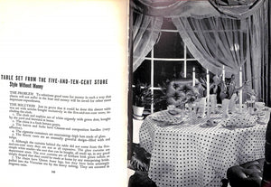 """Decorating Is Fun! How To Be Your Own Decorator"" 1939 DRAPER, Dorothy"