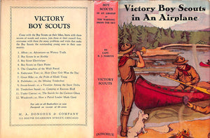 """Victory Boy Scouts In An Airplane: Or The Warning From The Sky"" RALPHSON, G. Harvey"