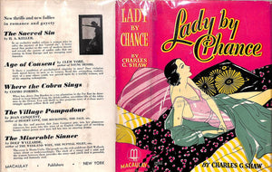 """Lady By Chance"" 1932 SHAW, Charles G."