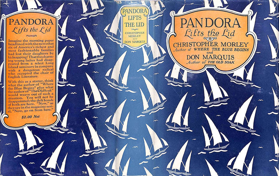 """Pandora Lifts the Lid"" MORLEY, Christopher"